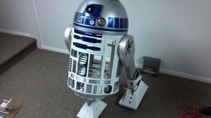 3D Printed R2-D2